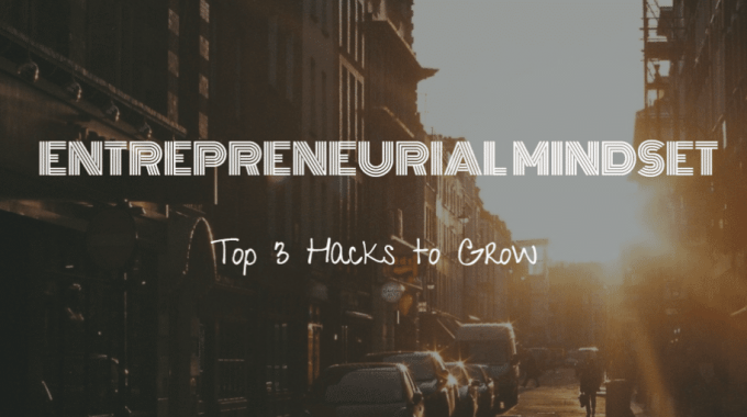 Entrepreneurial Mindset: Top 3 Hacks to Grow (Recommended for All Businesses)