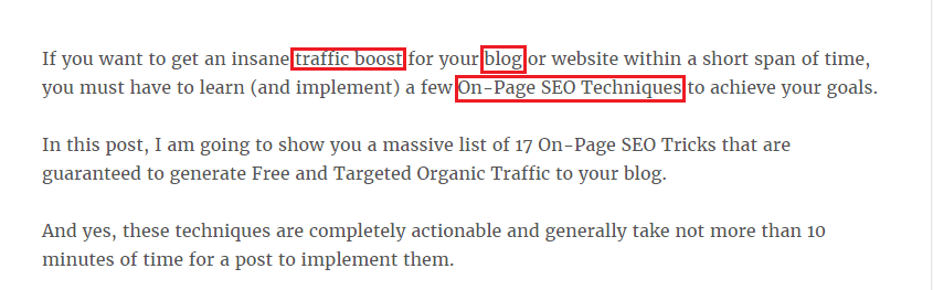 On-Page SEO Techniques Image M