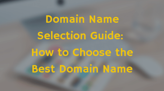 how to choose a diomain name for your store