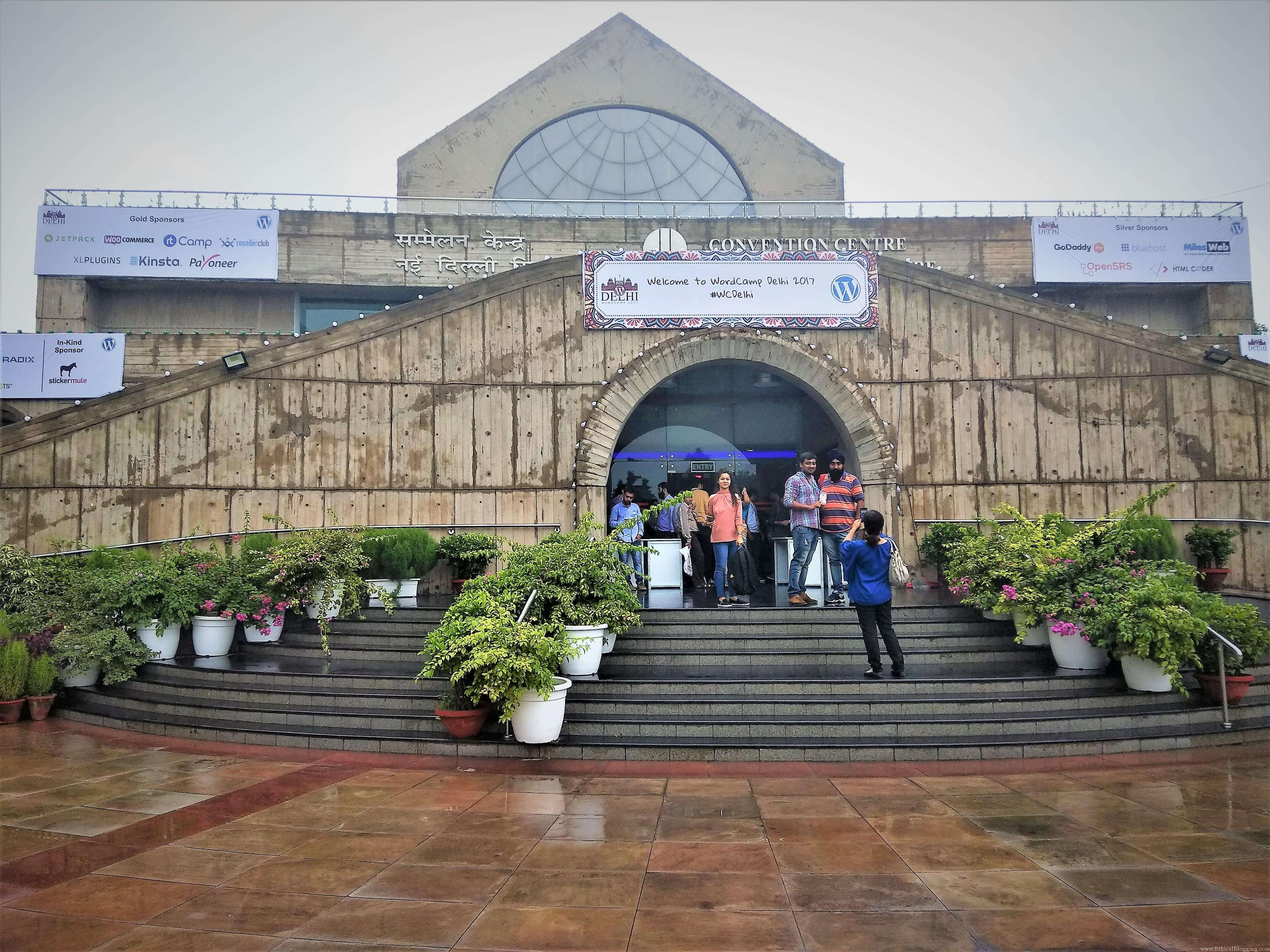 Front Gate of WordCamp Delhi 2017