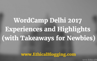 WordCamp Delhi 2017 Featured Image