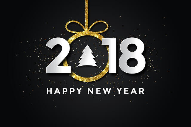 Ethical Blogging Happy New Year 2018 Featured Image