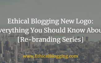 Ethical Blogging New Logo Featured Image