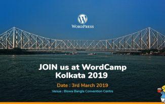 WordCamp Kolkata 2019 Featured Image