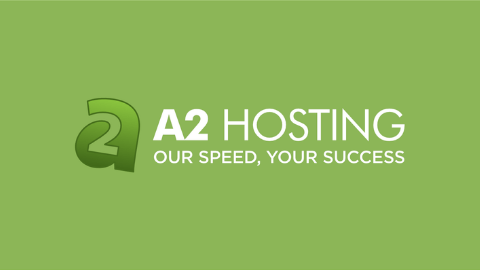 A2 Hosting Logo (Light Green Background)