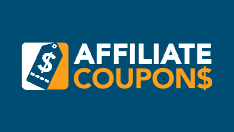 Affiliate Coupons Logo (Dark Blue Background)