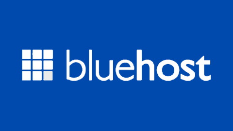BlueHost Logo (Blue Background)