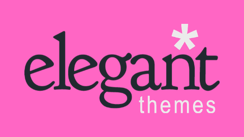 Elegant Themes Logo (Pink Background)