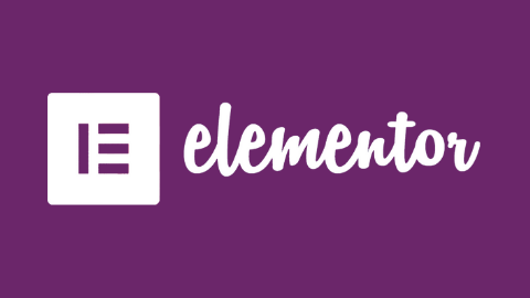 Elementor Logo (Dark Violet Background)