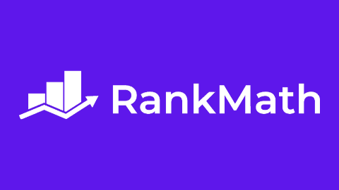 Rank Math Logo (Violet Background)