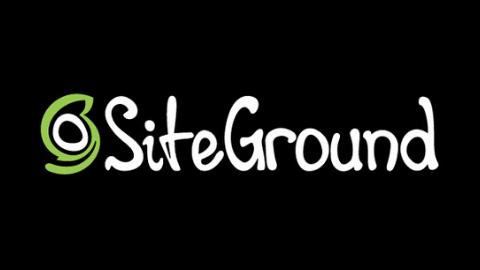 SiteGround Logo (Dark Background)