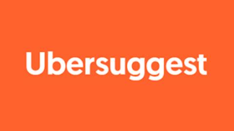 Ubersuggest Logo (Orange Background)
