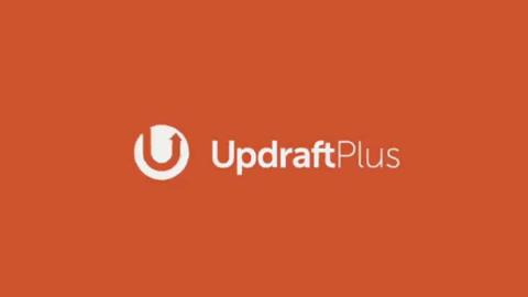 UpdraftPlus Logo (Orrange Background)